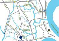 Bán nhà 1 trệt 2 lầu 3 phòng ngủ-97m2, KDC hiện hữu, an ninh, cách Phú Mỹ Hưng 6km, giá 900tr/căn. Sổ hồng