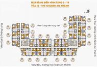 (Anh Bản)CC cần bán căn hộ tầng 1219 chung cư Golden An Khánh diện tích 68.8m2, bán gấp giá 870tr, liên hệ 0988453995