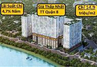 Chỉ còn 5 chung cư Green River Quận 8 giá 14,9 triệu/m2 (VAT), LS ưu đãi chỉ 4,8%/năm. CĐT 0918.950.828